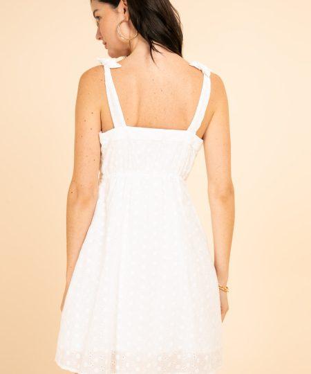 Robe Rose Blanc